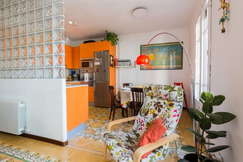 Sala de estar y comedor / Living & dining room