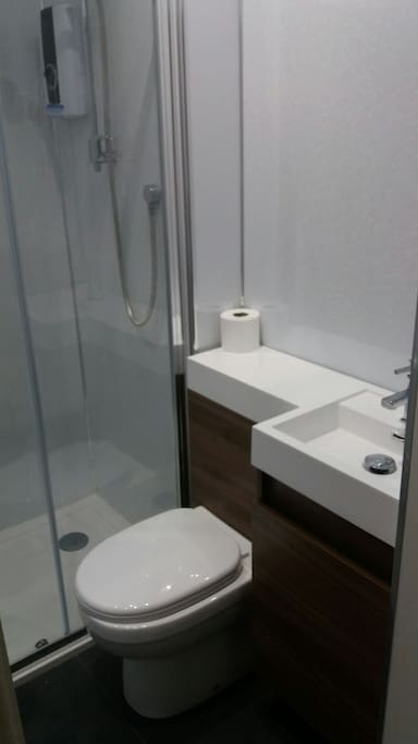 Modern bathroom with high quality fittings