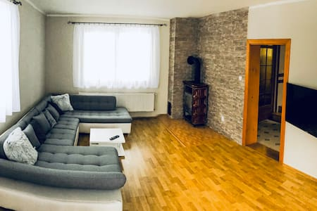 family house with free parking in Rajecké Teplice