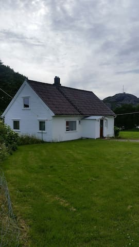 Cozy old house on a farm near Egersund