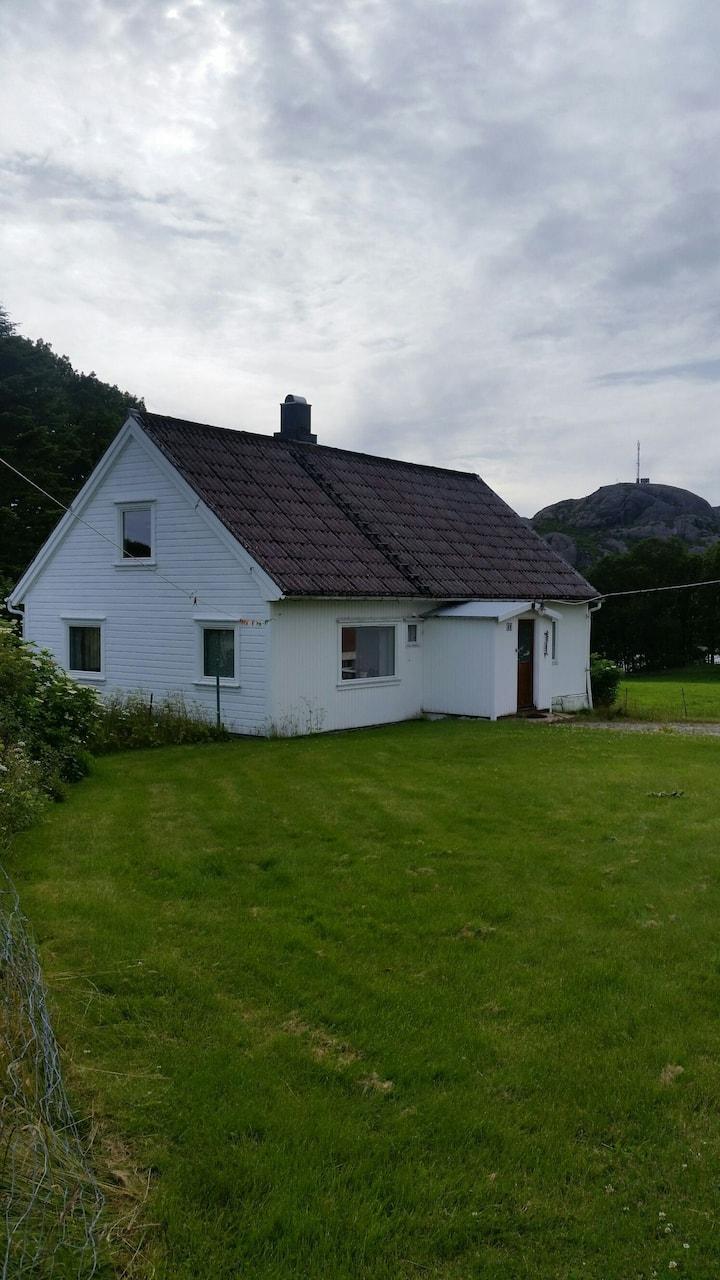 Cozy old house on a farm near Egersund