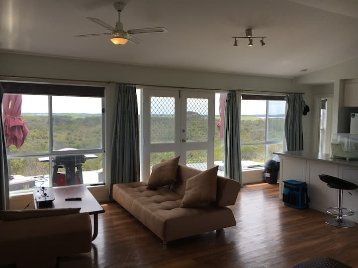360° Views - Beach House On Massive Natural Block