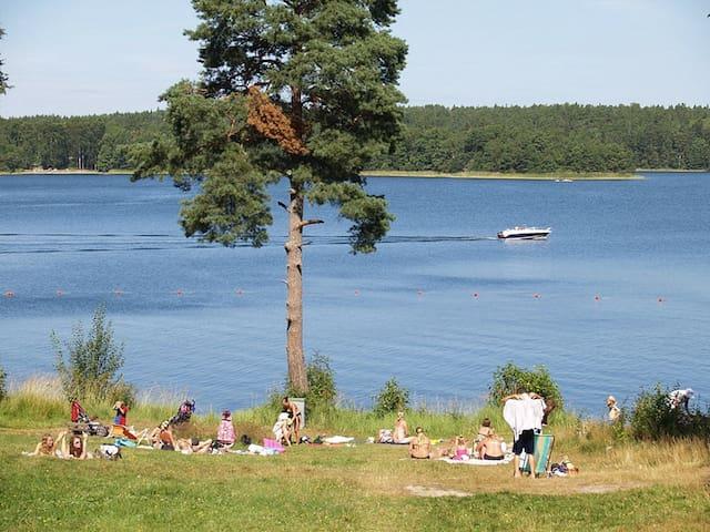 Stuga i skärgården 30 min från Stockholm