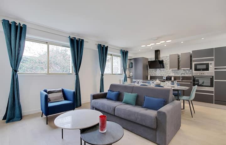 Trocadéro/Eiffel Tower- Luxuous 3 bedrooms-All new