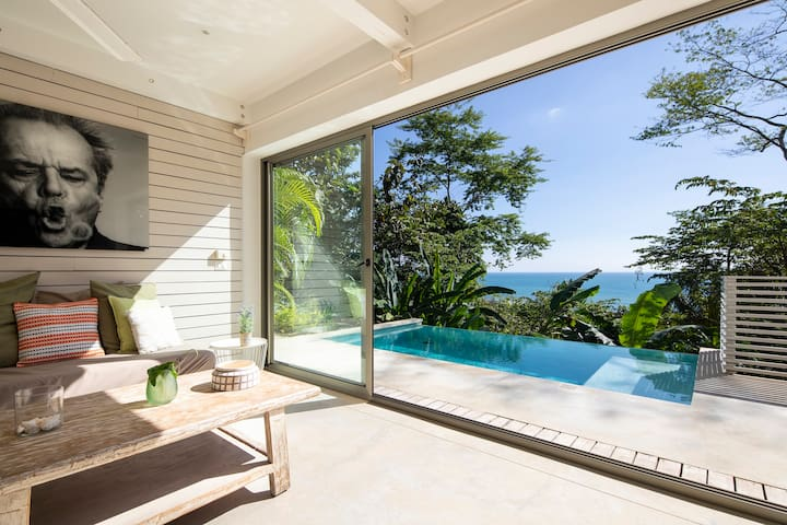 Ocean View-VILLA NICHOLSON- at 300m from the beach