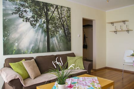 Beautiful spacious apartment with fantastic view of Poznań - Poznań