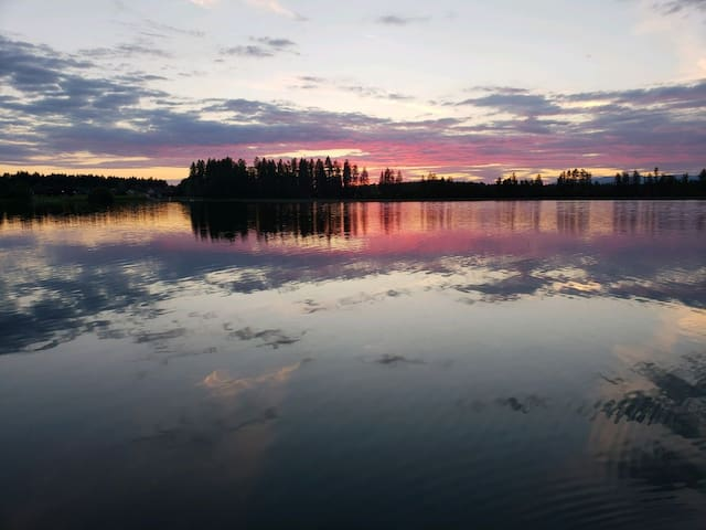 Lake Blaine Retreat + Campsite
