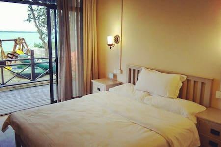 溪霞别院1号楼无敌湖景大床房-270度无死角 - Suzhou - Bed & Breakfast