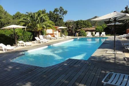 Beautiful villa- 6 people and swimmingpool - Zonza