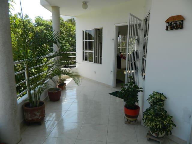 Double Private Room - Santa Marta (districte turístic, cultural i històric) - Pis