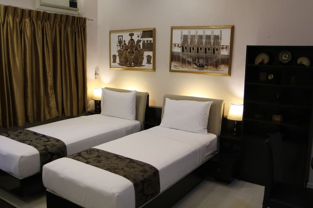 Two Single bed
