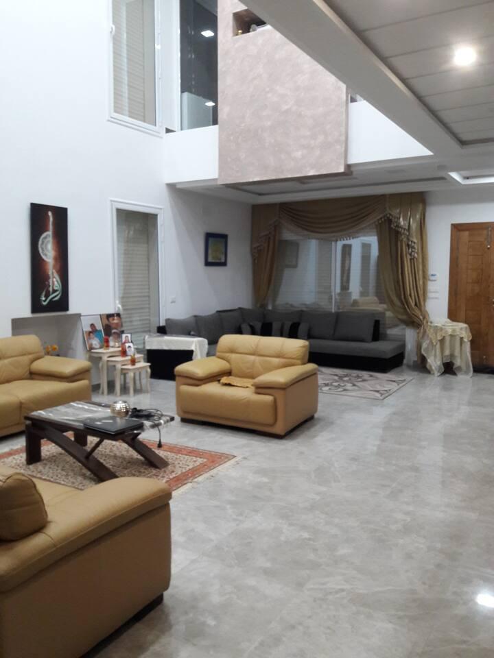 Suite privée dans une villa