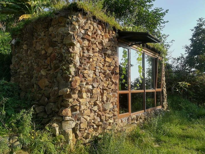Tiny house with panoramic view