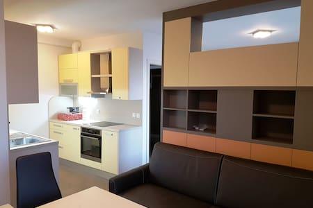 NEW apartment, big balcony, free garage parking - Lubiana