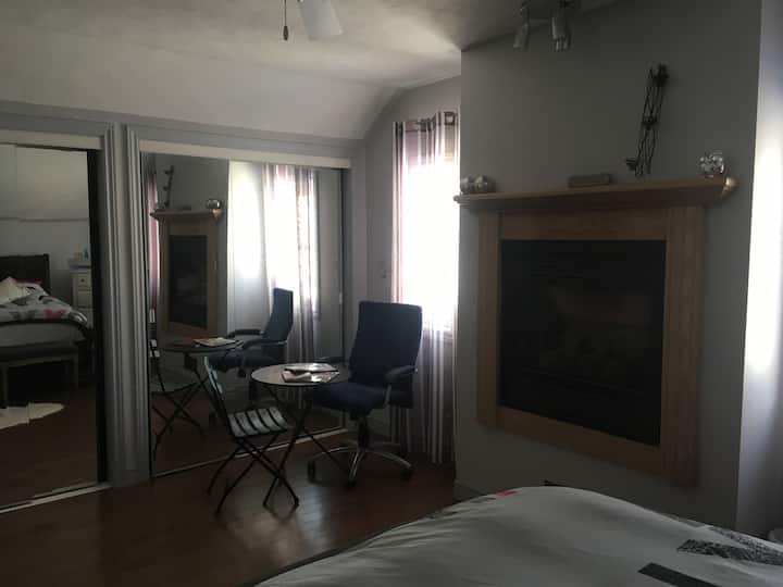 Room in Century home with modern amenities