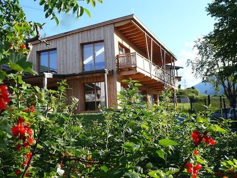"""Haus""""SUNNE""""Top4  Öko-Holz-Lehmhaus. Imst/Tirol"""