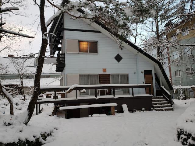Midori Cottage, powder snow haven Hakuba.