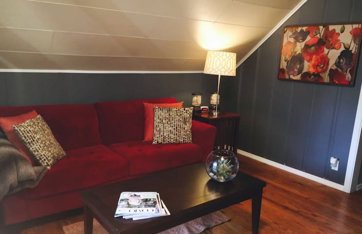 Cozy attic apartment, 5 min to Downtown Columbia - Columbia