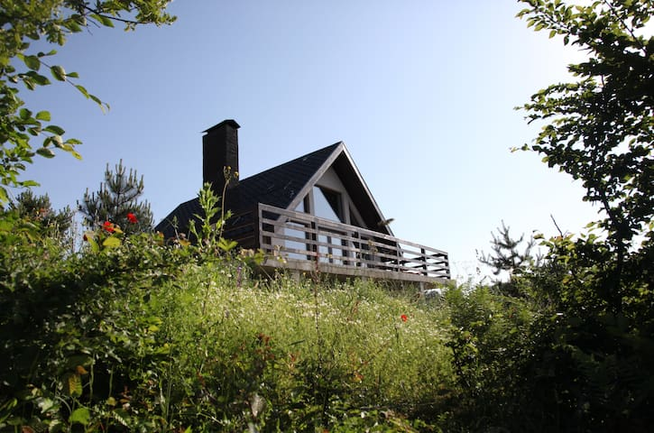 Köroğlu Dağları manzaralı, şömineli dağ evleri