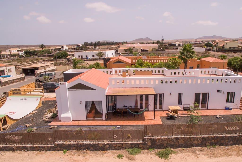 Welcome to da Mata Kite&Surf House