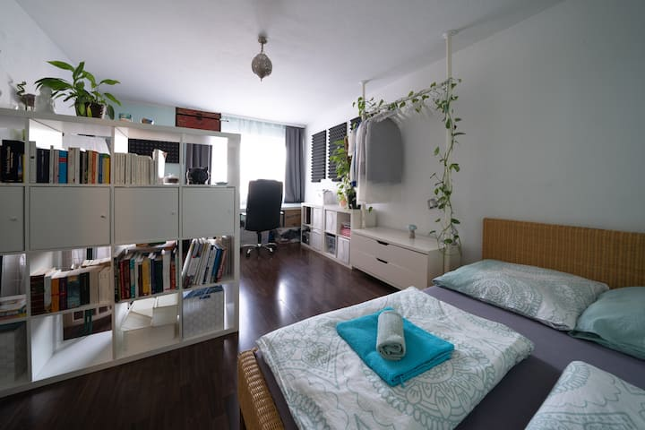 Lovely two room flat in city center