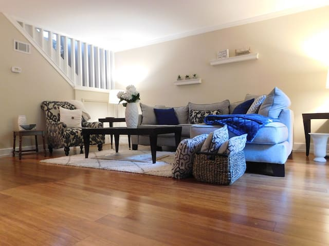 NC State Town House 10mins to downtown Raleigh