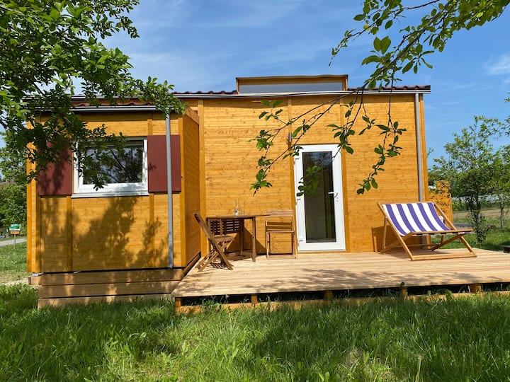 Tiny-House III Biolandhof Bodensee