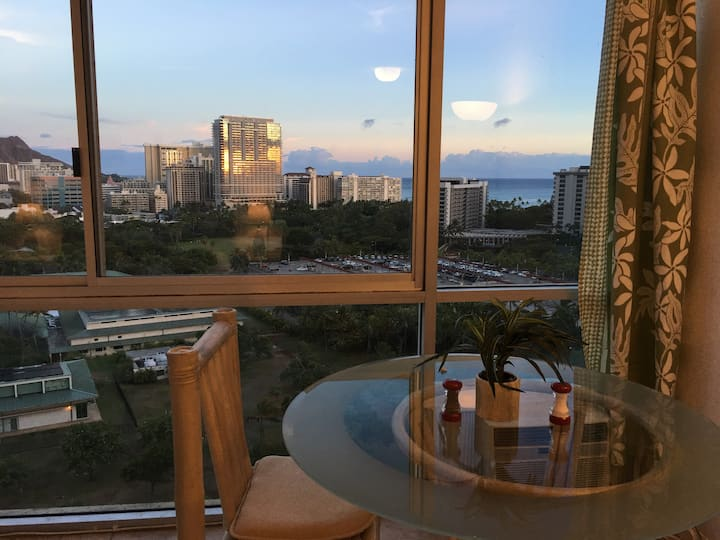 Legal. Jewel in Sky by Hilton Hawaiian beach