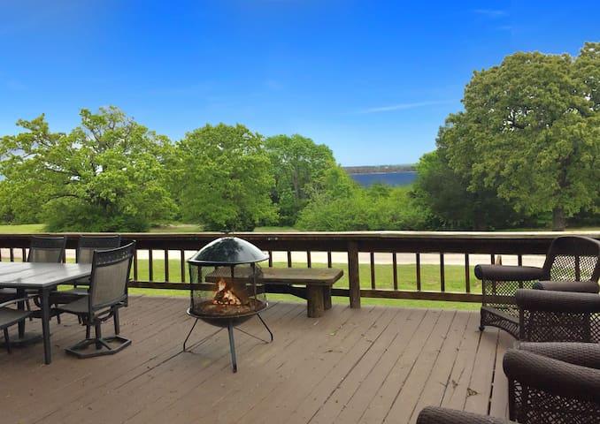 Lake Road Lodge w/ GIANT Deck and Lake View!