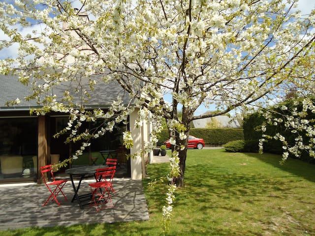 Golfe du Morbihan , maison agréable et lumineuse - Bono - Huis