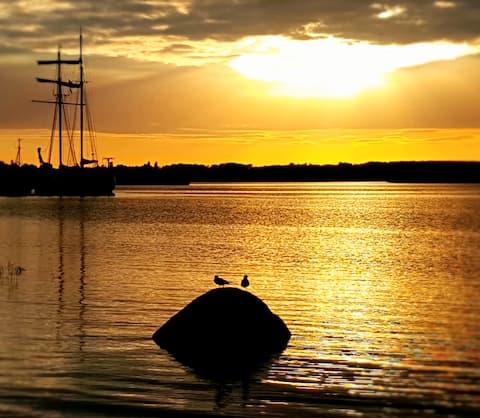 Mimi´s Ferienhaus am Achterwasser, Insel Usedom  J