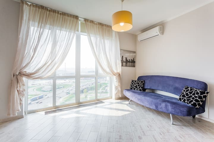 Apartment at riverside with panoramic view! 15 flo