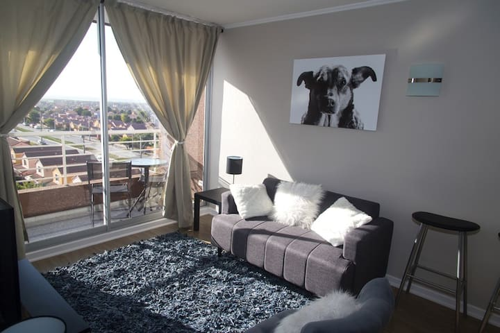 Modern apartment  for 2 in La Serena