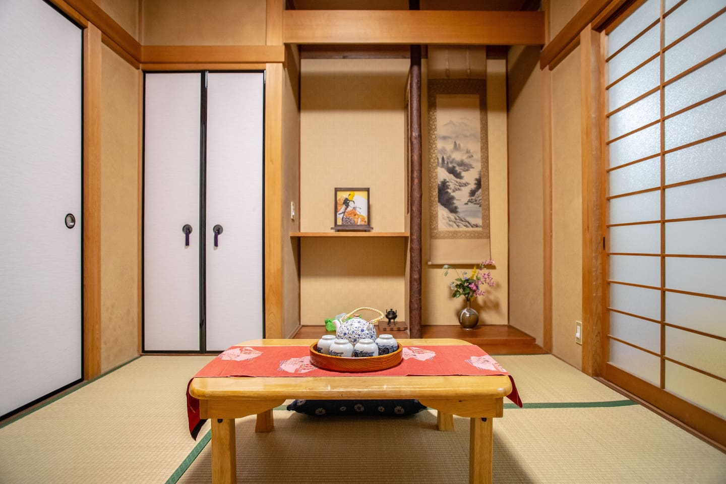 Authentic Japanese house - very suitable for big groups