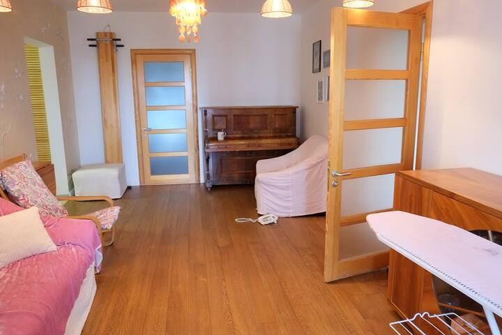 Comfortable and spacious flat near subway - Kyiv - Apartment