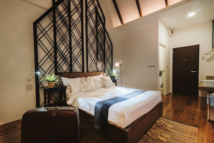 S5 ★Boutique Modern Hotel★ - 1m to BTS, 5m to Siam