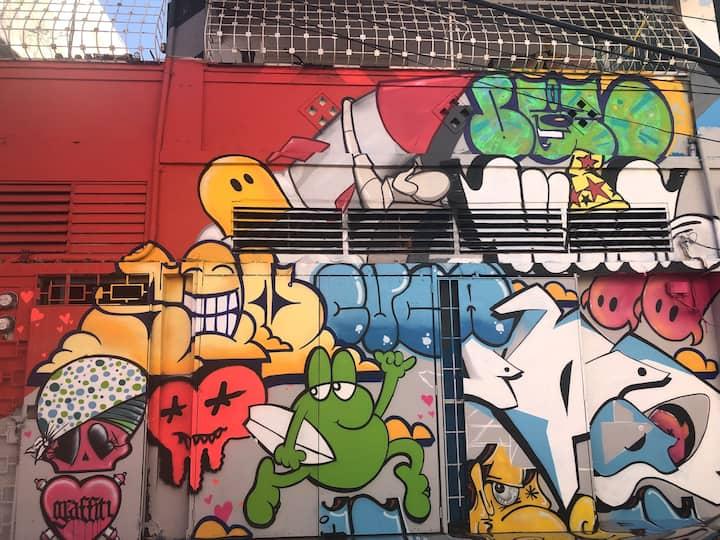 Santurce Urban Art District #6 w/ A/C