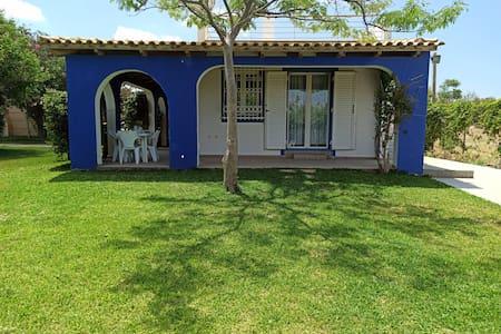 blue rest house