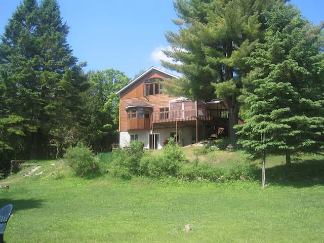Huge waterfront cottage bar & pool - Wentworth-Nord - Cabana