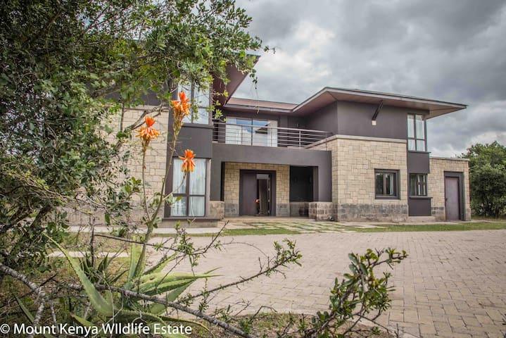 Villa in the Wild, Mount Kenya Wildlife Estate #46