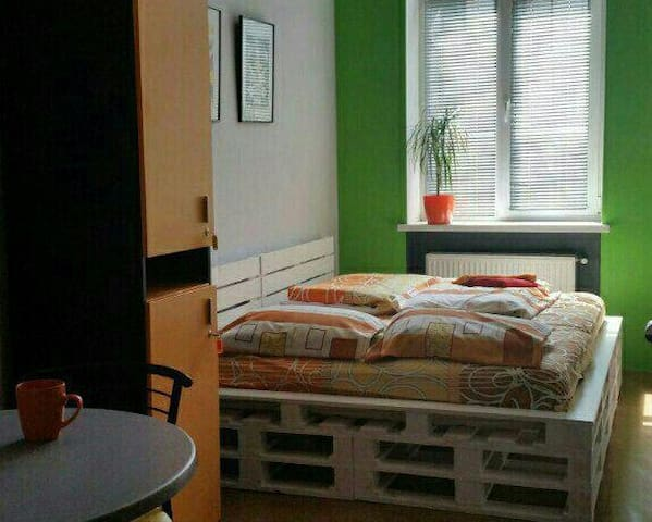 Double room in The Georgehouse Hostel