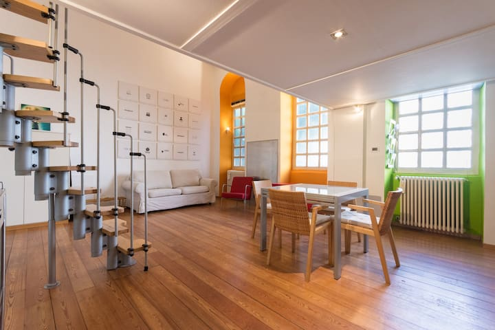CHARMING STUDIO WITH PRIVATE COURTYARD - Torino - Apartment