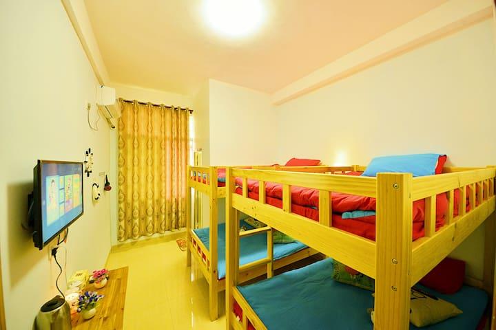 南靖土楼 云水谣景区 云水谣海西情怀客栈四人间床位一个 - Zhangzhou - Hostel