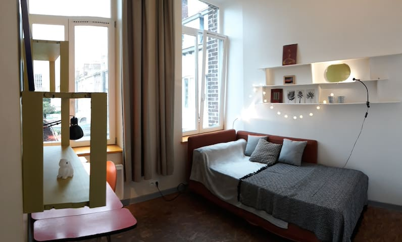 nice studio  close to the Citadelle of Lille