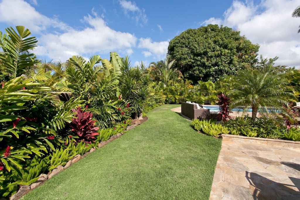 Well landscaped property