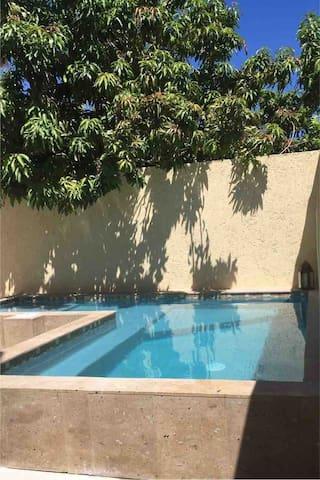 CostaBaja house, pool, walk-distance beach, BBQ