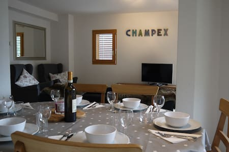 Lovely hiking/skiing apartment Champex Lac Valais
