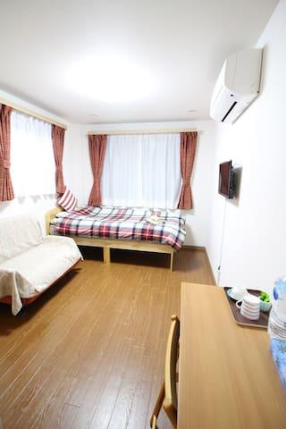 政府认可  樱花公寓 步行车站6分钟 前往梅田5分钟 3人房间