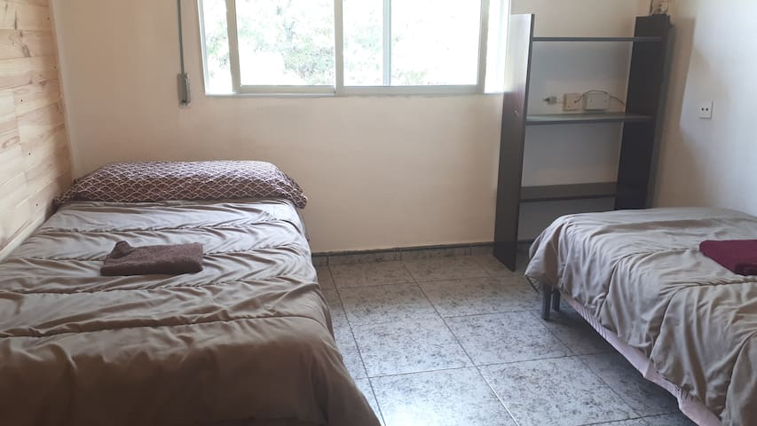 sunny room for 1-3 guest