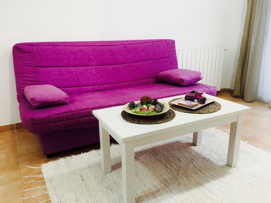sofa which can be extended to sofa bed for two persons